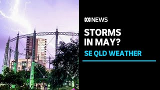 BOM explains why Brisbane and south-east Queensland has had storms with hail in May | ABC News