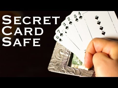 The Secret Card Safe - Hiding Spot