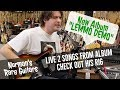 LEMMO DEMO ALBUM IS OUT!!! 2 LIVE SONG & RIG RUNDOWN | Norman's Rare Guitars