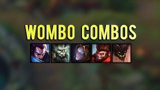 Best Wombo Combos Montage 2016   League of Legends