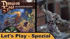Dungeon Saga (bemalt) - Let's Play Spezial mit Nick-Nack und Andreas