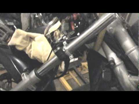 SV650 GSXR Fork Swap - Quick and Dirty