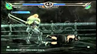 SOULCALIBUR V Online Siegfried vs Soul of Devil Jin
