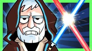 7 Worst Ways To Use a Lightsaber! - Star Wars Parody - @Crunchlins