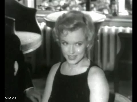Marilyn Monroe Archive Footage  -  Press Conference At The Savoy Hotel London 1956