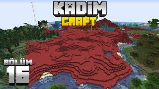 Kadimcraft 1: Bölüm 16 - BASE ÇALIŞMASI, GENEL PROJE VE PLAN !!