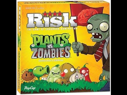 Risk: Plants vs. Zombies review - Board Game Brawl