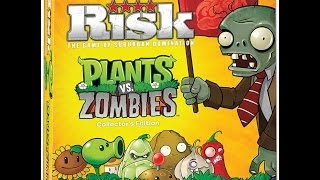 Risk: Plants vs. Zombies review - Board Game Brawl