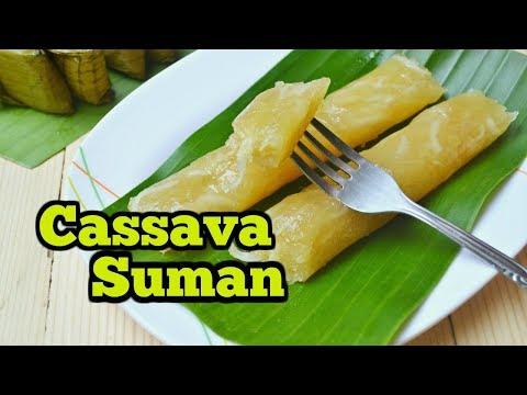 Cassava Suman (Suman Kamoteng Kahoy)