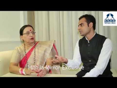 Padmashri Sharda Sinha interviewed by Lalit Narayan Jha