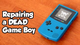 Restoration and repair of a DEAD Game Boy Color