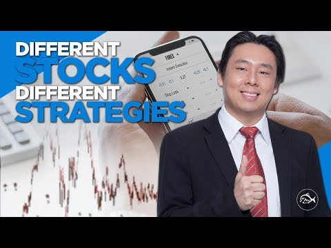 Stock investment & trading strategies. Different stocks different strategies