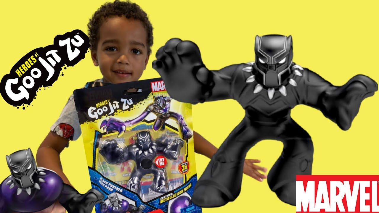 HEROES OF GOO JIT ZU MARVEL BLACK PANTHER NEW RARE
