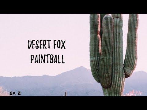 Desert Fox Paintball // November 3, 2018 // Tucson, Arizona