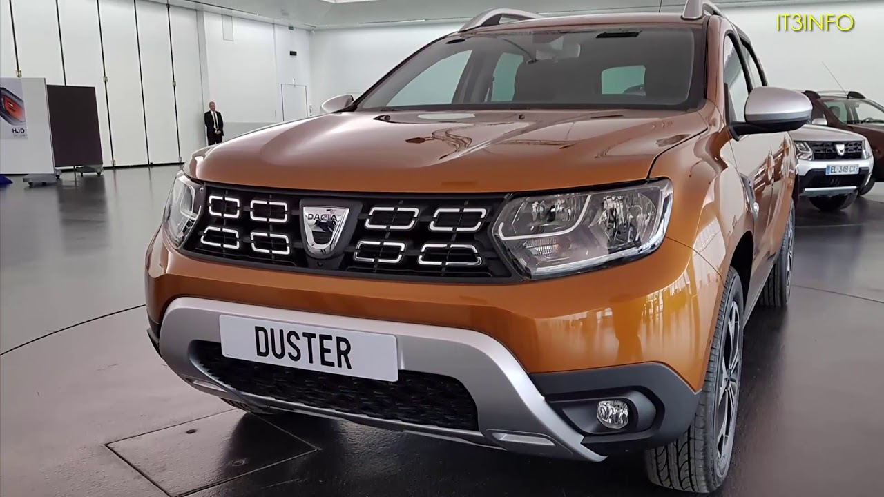 New dacia duster 2018 youtube for Dacia duster 2018 uscita