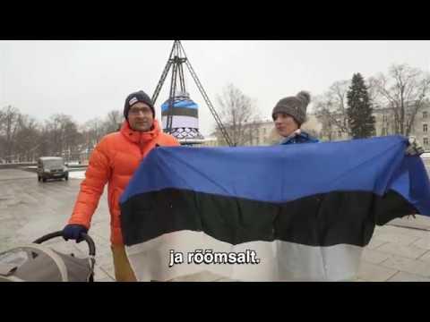 Su gimtadieniu, Estija!