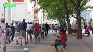 Пражская улица в Дрездене - рай для шопинга Prager Straße Dresden German