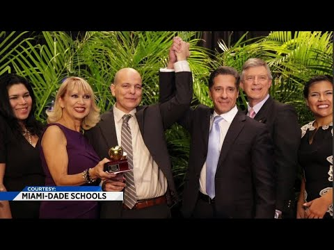 South Miami Senior High teacher named Teacher of the Year in Miami-Dade County