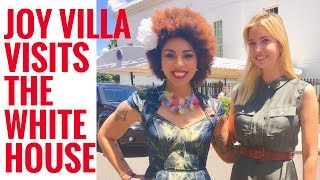 Joy Villa Visits The Whitehouse! 😳❤️💕 Who did I Meet??