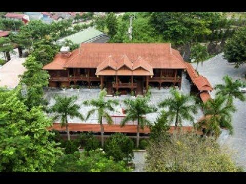 Nhà Sàn Gỗ Lim Lớn Nhất Việt Nam | Poòng Văn Quỳnh