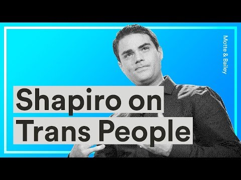 Ben Shapiro on Trans People, Sexuality, the Science of Gender, and the War on Language