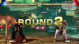 Destaque Seven Points SFV - Ryu vs Ken - Match 2