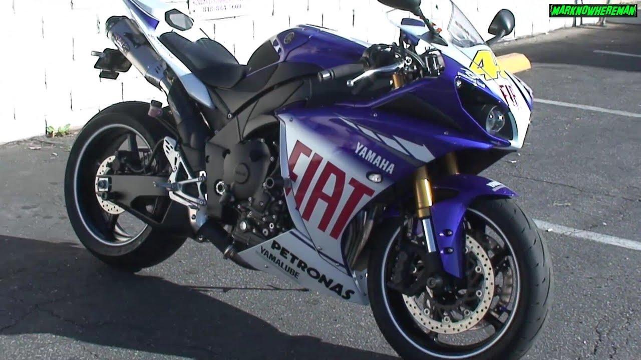 Yamaha yzf r1 valentino rossi edition w yoshimura exhaust youtube publicscrutiny Images