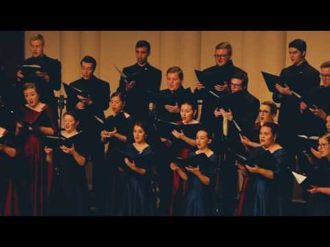 "Capital University Chapel Choir - ""Ancient Words"""