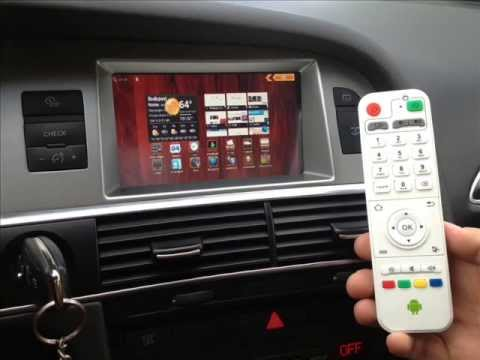 Audi A6 2g Android Multimedia Aftermarket Navigation Www Automultimedia Hu Youtube