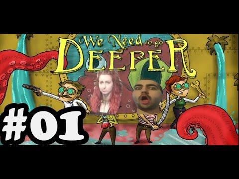 We Need To Go Deeper: В подводница заедно с Galka Power! #1