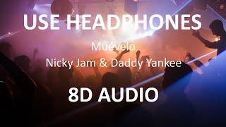 Nicky Jam & Daddy Yankee - Muévelo ( 8D Audio ) 🎧