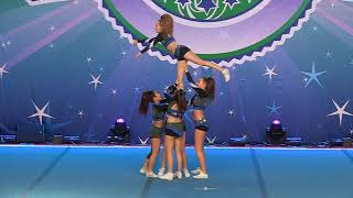 Infinity Cheer Elite  Icons   Sr Stunt Group 3