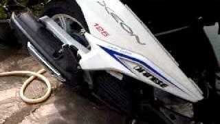 knalpot racing mio 125 di xeon 125