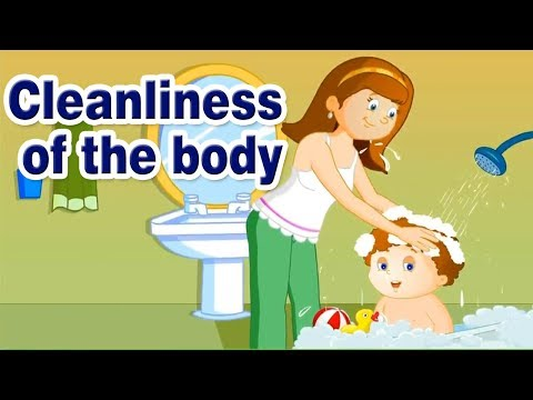 Cleanliness of the body | good habits for kids | Good Manners for kids in English