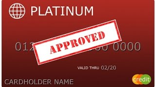 How to instant approval credit card