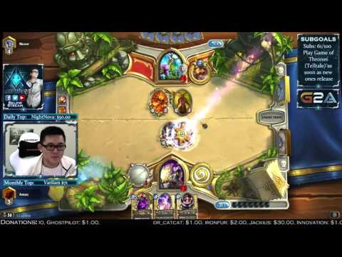 The Most Competitive Priest vs. Druid [Full Game]