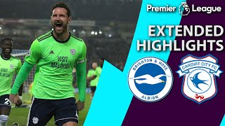Brighton v. Cardiff City | PREMIER LEAGUE EXTENDED HIGHLIGHTS | 4/16/19 | NBC Sports