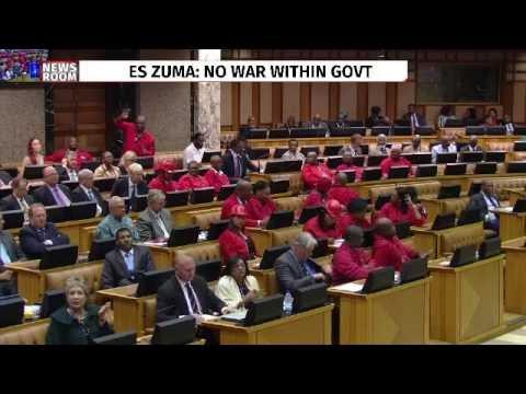 """""""Remove Zuma and Dudu Myeni from power"""", Malema"""