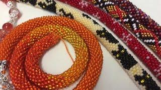 Runde Armbänder selber häkeln. DIY. Teil 1/2. Anna's Perlen