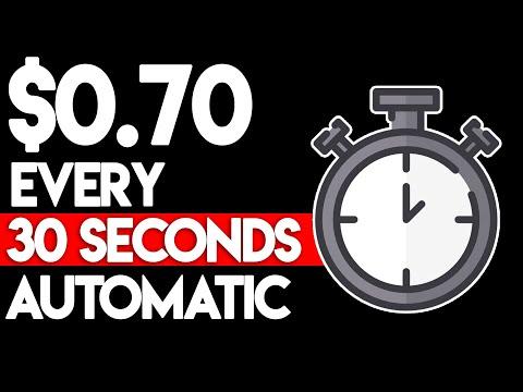 Make $0.70 Every 30 Seconds On Autopilot! (Passive Income)