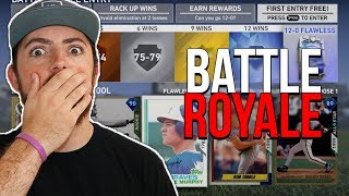 My First ONLINE Game In MLB The Show 19 Battle Royale