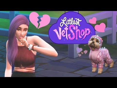 Getting Rejected | Littlest Vet Shop - Ep3 - Sims4 Cats & Dogs