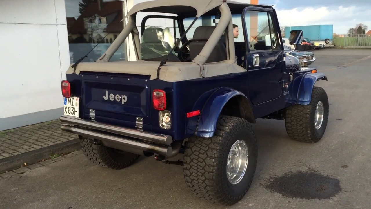 Jeep Cj 7 720 Hp