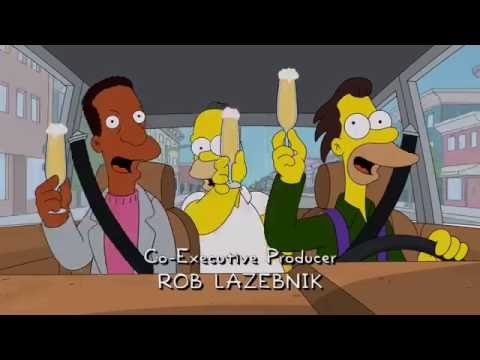 Homer, Lenny and Carl go to the nuclear convention