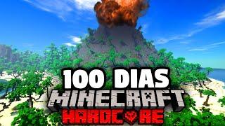 Sobreviví 100 Días en una Isla Desierta en Minecraft y Esto es lo Que Pasó