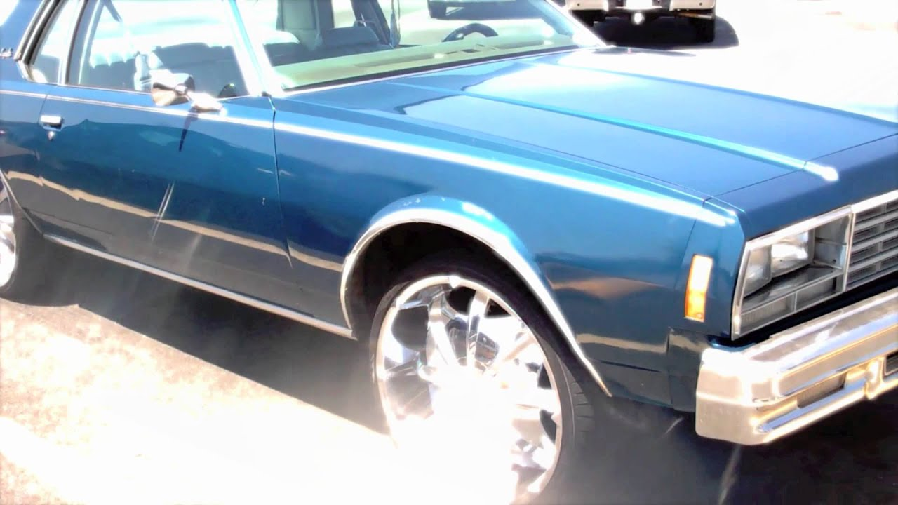 Original 1978 Box Chevy Impala On 24s  Albany Ga