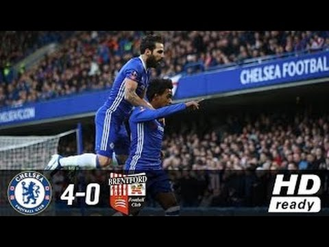 Download Chelsea vs Brentford 4-0 All Goals & Extended Highlights - FA Cup 28/1/2017 HD