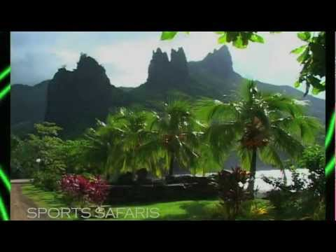 Marquesas Islands, Tahiti: Adventure Hot Spot. Island tour by a native. Part 1