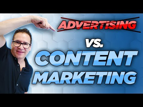 Advertising vs. Content Marketing | Breakthrough LIVE! thumbnail