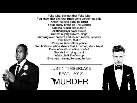 Justin Timberlake - Murder HQ (feat. Jay Z / With Lyrics)